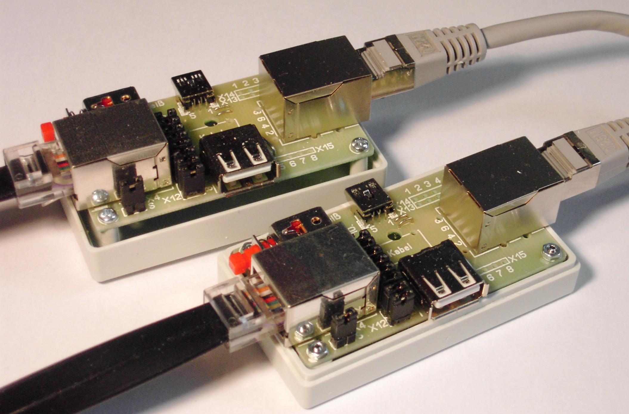 Adapter RJ50/USB für Kabeltester